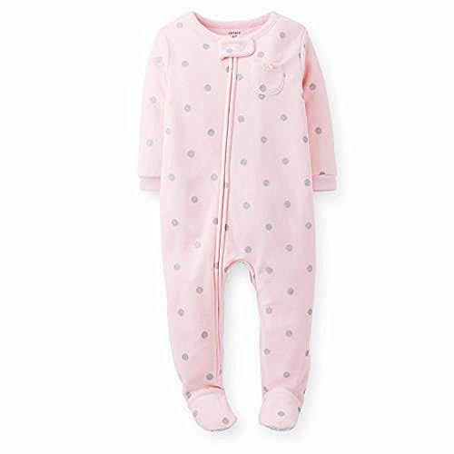 Price comparison product image Carter's Dot Fleece Footie (Toddler/Kid) - Glitter-4T