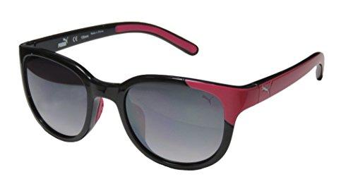 Puma Sunglasses 15173 Round Sunglasses,Pink,90 mm - Puma Silver Sunglasses
