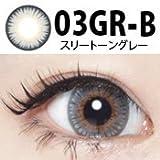 コンタクトフィルム ドクターカラコン スリートーングレー/03GR-B