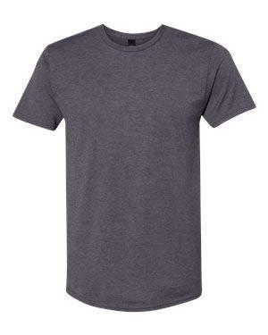 Hanes - Nano-T T-Shirt - 4980 - S - Charcoal Heather