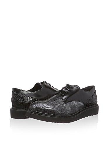 Negro Tamaris 37 De Eu Cordones Zapatos rfwfqPt