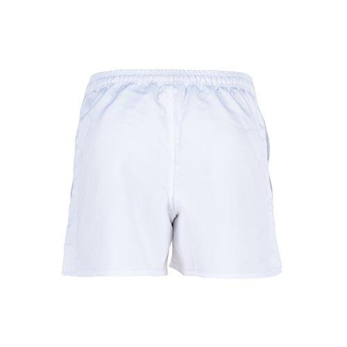 Canterbury Rugby Cortos Elástica Blanco Pantalones Hombre Con Cintura Professional wtr4t