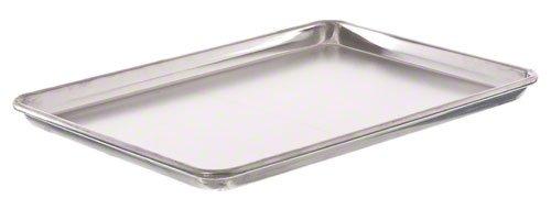Update International (ABNP-50) 13'' x 18'' Half-Size Aluminum Bun Pan