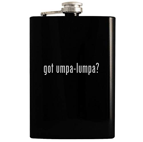 got umpa-lumpa? - Black 8oz Hip Drinking Alcohol Flask