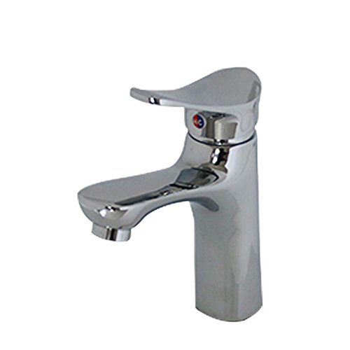 GAOF Lead-free copper basin-wide hot and cold basin vertical taps well-wreapped