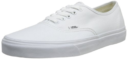 Vans off the wall authentic True white (size Men US 8 Women 9.5)