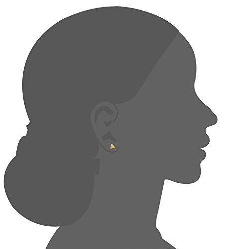 139431412128 Costura y manualidades lanaso Unisex Negro Triá ngulo Pendientes Studs  Pendientes Ear Stud Pendientes de clip ...