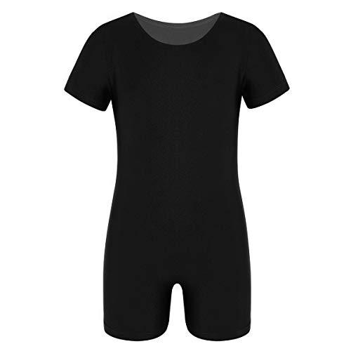 inhzoy Kids Girls Boys Short Sleeve Solid Color