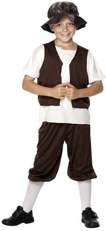 TUDOR - Disfraz de campesino para niño, talla 12-150 cm: Amazon.es ...