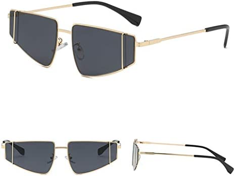 Sunglasses for Men F/_Gotal Polarized Classic Aviator Sunglasses Retro Style Metal Frame for Cycling Driving