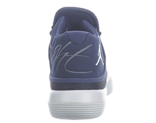 Nike Jordan Super.fly 2017 Tb Herre 921.204 Til 401 Midnat Marineblå / Hvid-rent Platin k8n4dH5