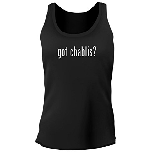 Tracy Gifts got Chablis? - Women's Junior Cut Adult Tank Top, Black, Small ()