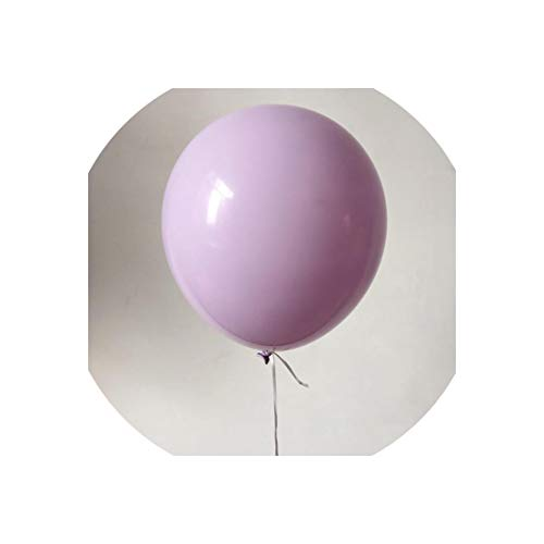 Balloon 100Pc/Lot 5/10 Inch Macaron Latex Balloons Wedding Birthday Decoration Globos Baby Shower Girl Birthday Party Helium Balloon New,Purple,5Inch]()