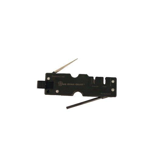5ive Star Gear 5SG Multi-Function Knife Sharpener, Black