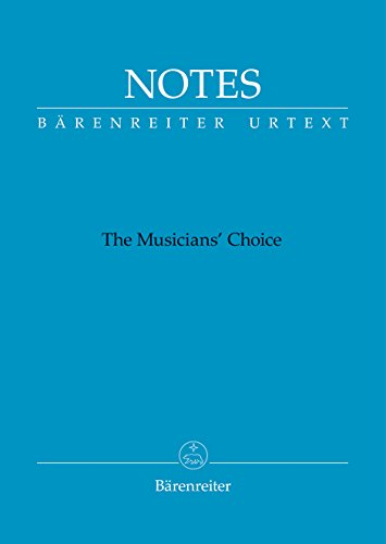 Barenreiter NOTES - The Musician's Choice - Bach Blue