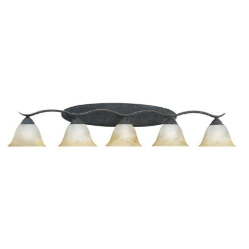 Thomas Lighting SL748522 Prestige 5-Light Lamp in Sable Bronze vanity wall sconce Five