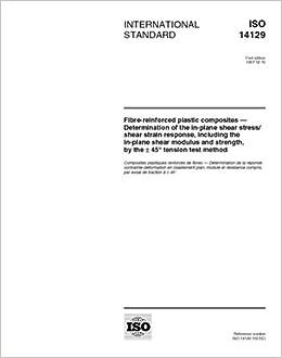 ISO 14129:1997, Fibre-reinforced plastic composites