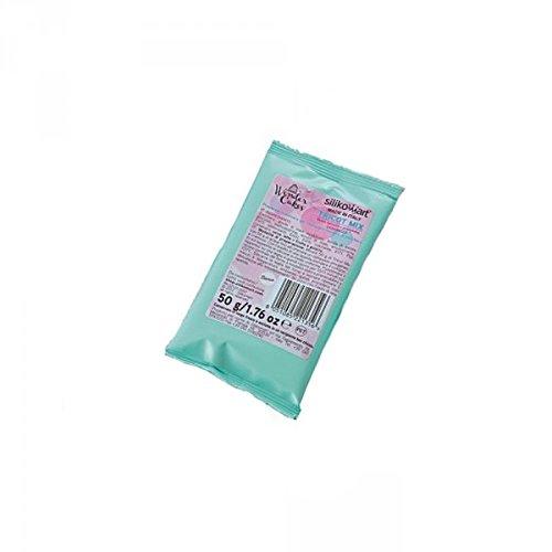 Silikomart 99.021.01.0001Strick Mix Mischung für Spitze Zucker Duft caramel weiß