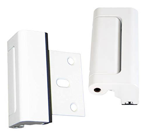 White Door Guardian Safety Lock, 2-Pack, The Original – Do Not Be Fooled by Imitators