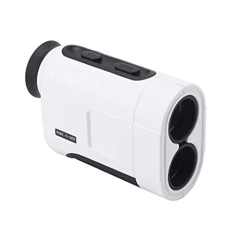 600M Outdoor Sport Golf Handheld Monocular Range Finder Telescope Distance Meter,White