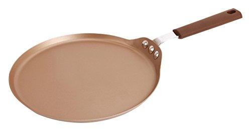"""Chef Made Non-Stick Crepe Pan, 9"""" L x 9"""" W, Champagne"""