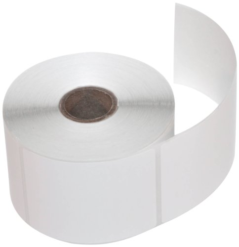CompuLabel Direct Thermal Labels, 2 1/4-Inch x 3 Inch, White, Roll, Permanent Adhesive, Perforations Between Labels, 500 per Roll, 12 Rolls per Carton (530616) ()
