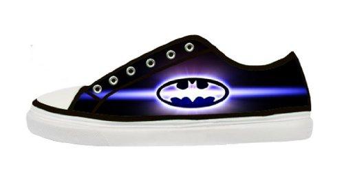 Lady's Nonslip Canvas Shoes with Rubber Soles for Batman Fans