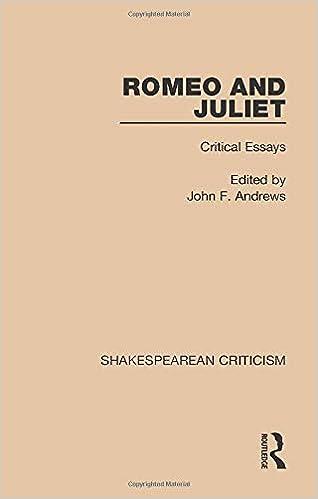 romeo and juliet university analysis