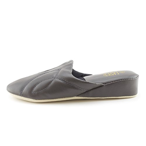 Adults Grey House Easy Vinyl Womens Dk Lounge Slippers HxX4q