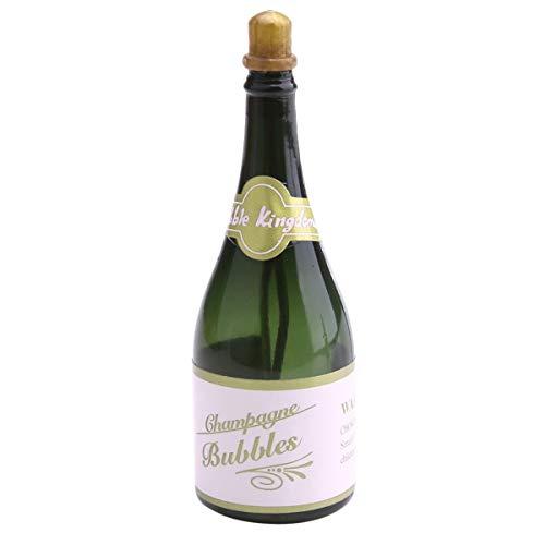 Bubble Bottles 10Pcs Champagne Bottle DIY Champagne Bottle Shape for Birthday Wedding Party Favors (Color : Dark Blue) -