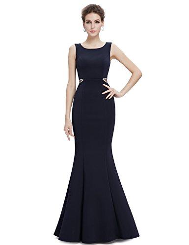 Ever-Pretty Womens Elegant Sleeveless Floor Length Mermaid Style Prom Dress 12 US Midnight Blue by Ever-Pretty (Image #5)