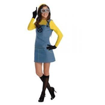 Secret Wishes  Costume Despicable Me 2 Female Minion Dress With Accessories Multicolor Medium