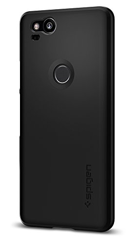 Spigen Thin Fit Google Pixel 2 Case with SF Coated...