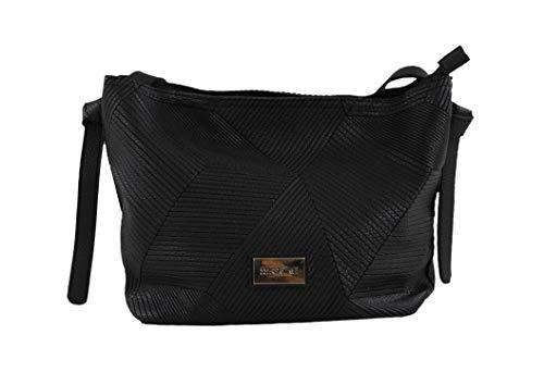 Bandolera Time For Lisa Negro Bolso negro 12x23x25 Mujer Para L H Cm X w q1qtdwf