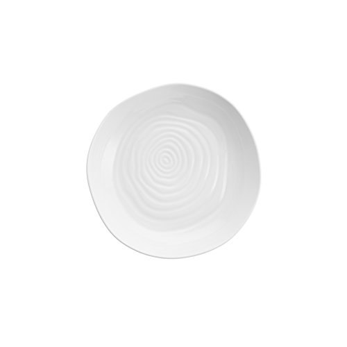 Fortessa Fortaluxe Dinnerware Contexture Nami Shallow Bowl, 8.75-Inch, Set of 4