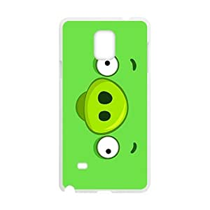 SVF Green Angry birds space Phone case for Samsung galaxy note4