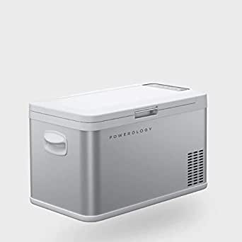 Powerology Portable Fridge and Freezer, 2 in 1 Portable Heavy Duty and Easy to use Refrigerator for Outdoor Adventure, 22 Hours Battery Life and Low Energy Consumption (25L)
