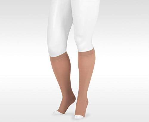 Juzo Varin Knee High 40-50mmHg Open Toe, I, Beige