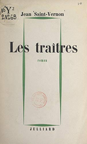 Les Traitres French Edition Kindle Edition By Jean Saint
