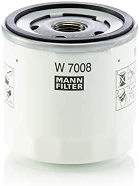 MANN-FILTER W 7008 Original Filtro de Aceite, Para automóviles y vehículos de utilidad