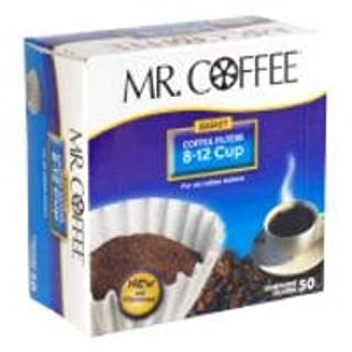Mr.Coffee Coffee Filters 8-12 Cup 50-Count (B000BO8ZHU) | Amazon price tracker / tracking, Amazon price history charts, Amazon price watches, Amazon price drop alerts