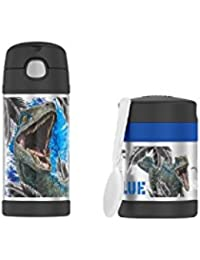 Thermos Jurassic World 12 oz Funtainer Bottle and 10 oz...
