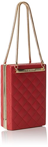 Borsa 5x15x10 H Nappa Sacs Rosso T Moschino Rouge baguette femme x Quilted Red Pu cm Love B 5qxtPZww