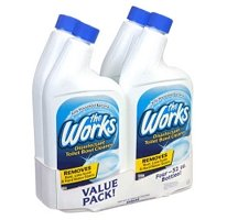 The Works 074157640105 The Disinfectant Toilet Bowl Cleaner 32oz (4 Pack) by The Works