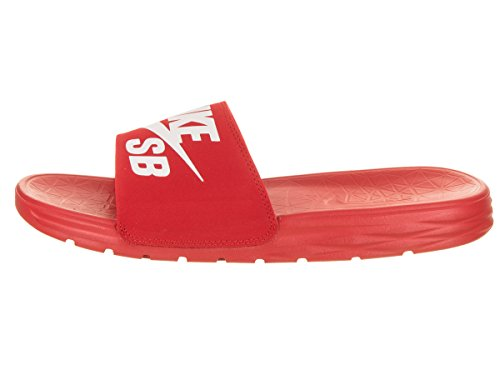 Pictures of NIKE Men's Benassi Solarsoft Sandals SB University Red/White 5