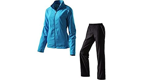 Energetics Damen Fitness-Freizeit-Trainings-Anzug Bita+Berna blau / weiß / schwarz