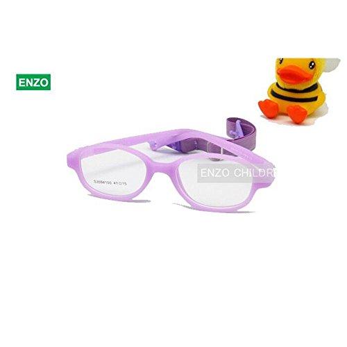 9757960574 EnzoDate - Montura de gafas - para niño multicolor morado 30% de descuento