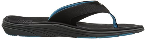 Multicolor Btb Black para Blue Reef Modern Hombre Chanclas Light 8nq7HIZw