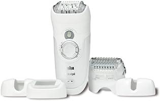 Braun Silk-épil 7 7681 - Depiladora utilizable bajo el agua, recargable, con 5 accesorios incluyendo cabezal de corte/afeitado y accesorio perfilador: Amazon.es ...