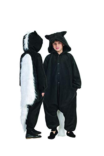 RG Costumes 40302 Funsies' Skunk, Child Small/Size 4-6, Black/White